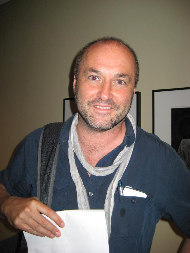 Colum McCann at WNYC June 3, 2013