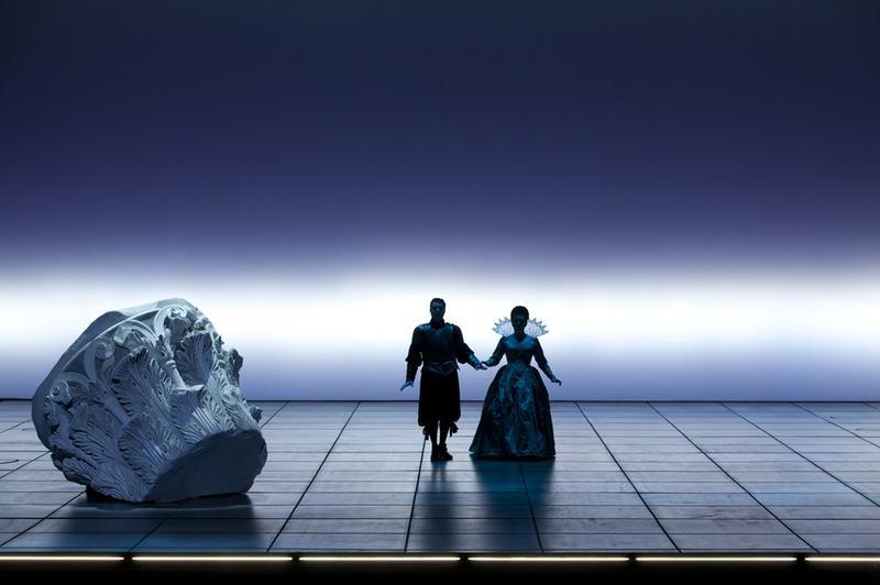 Monteverdi's 'The Coronation of Poppea' at the Palais Garnier opera house in Paris.