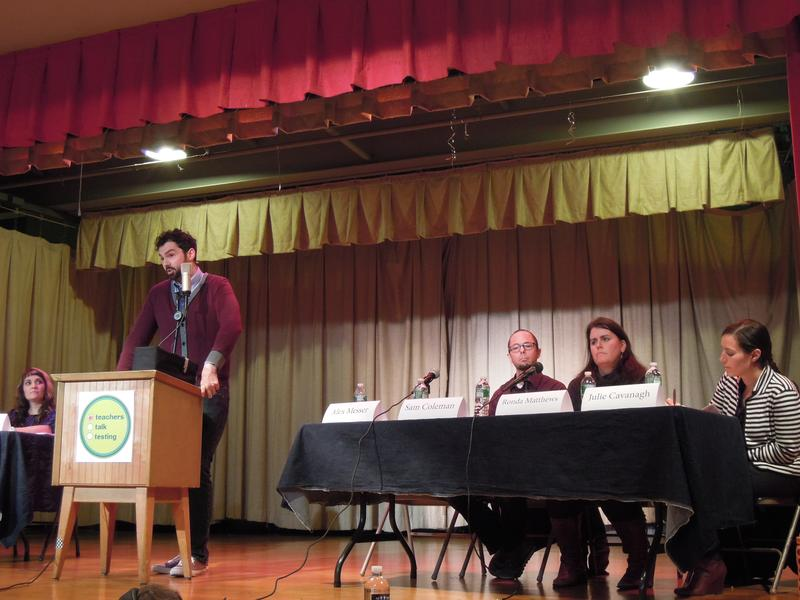 Alex Messer, a teacher at P.S. 321, describes the stress of testing on students and teachers.