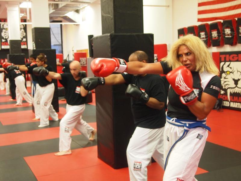 Daisey Lopez at Tiger Schulmann's