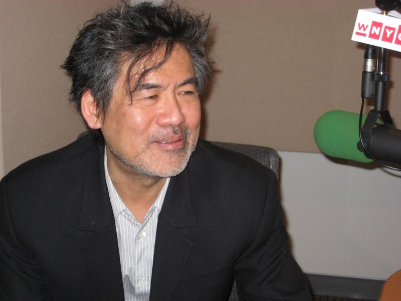 Playwright David Henry Hwang in the WNYC studios
