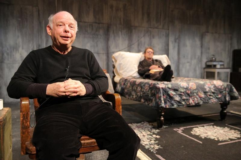 Wallace Shawn and Larry Pine in The Designated Mourner, written by Wallace Shawn and directed by André Gregory, running through August 25, 2013 at The Public Theater