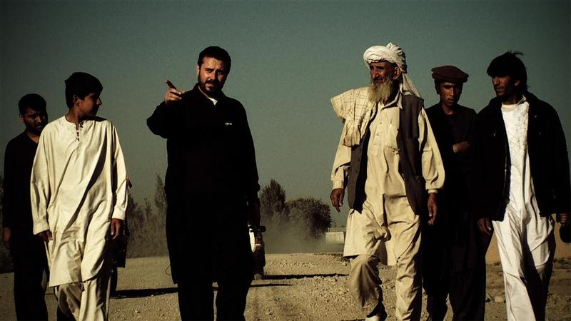 "Jeremy Scahill in Afghanistan. Photo by Richard Rowley. From the film ""Dirty Wars"""