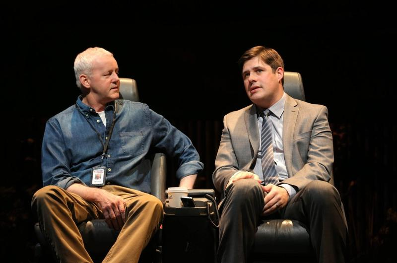 "David Morse and Rich Somer in the Roundabout Theatre Company's ""The Unavoidable Disappearance of Tom Durnin"""