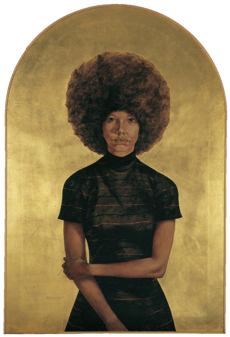 Barkley L. Hendricks, Lawdy Mama, 1969