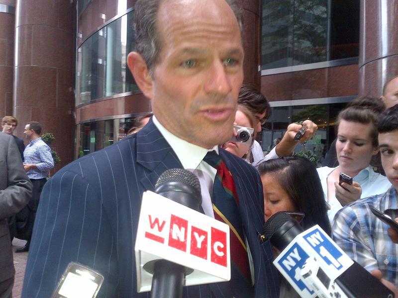 New York City Comptroller candidate Eliot Sptizer