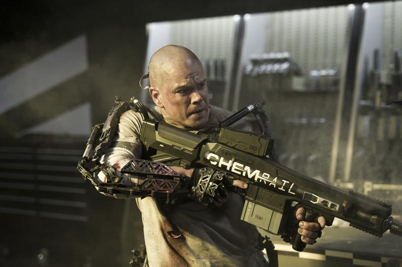 Matt Damon in <em>Elysium</em>