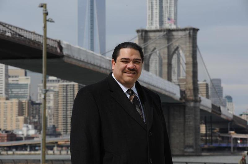 Reverend Erick Salgado, candidate for the Democratic nomination for New York City mayor.