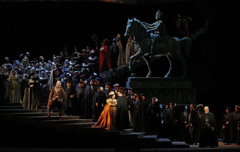 A scene from Verdi's 'Ernani'