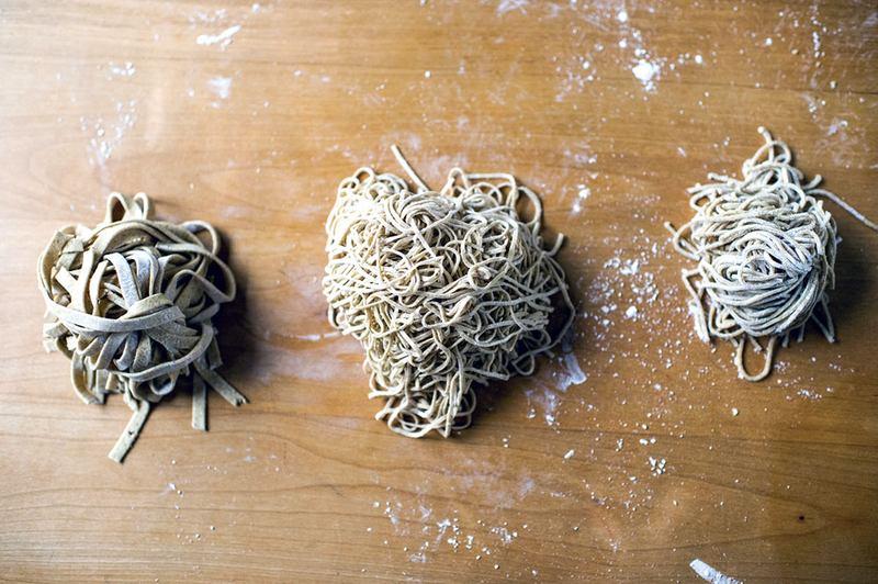 Ivan Ramen's Rye Noodles