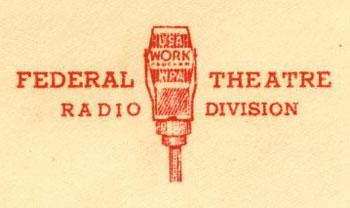 WPA Federal Theatre Radio Division logo