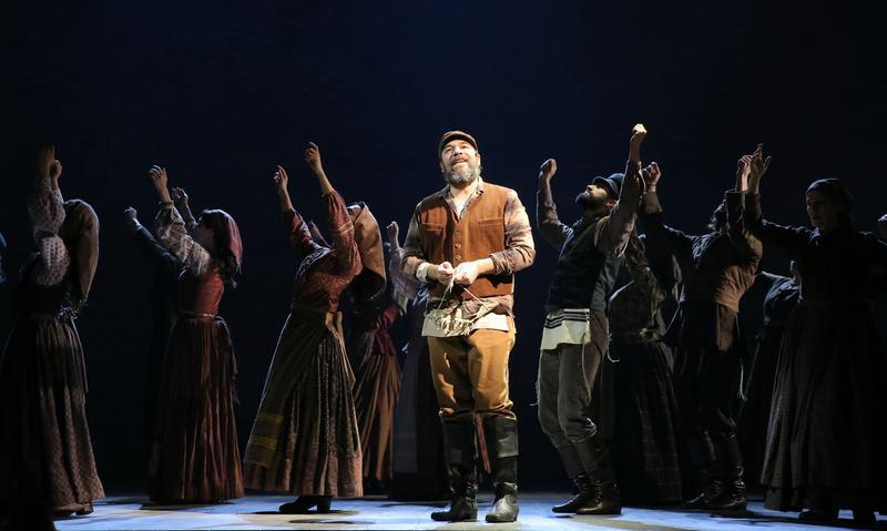 """Danny Burstein as Tevye in """"Fiddler on the Roof"""""""