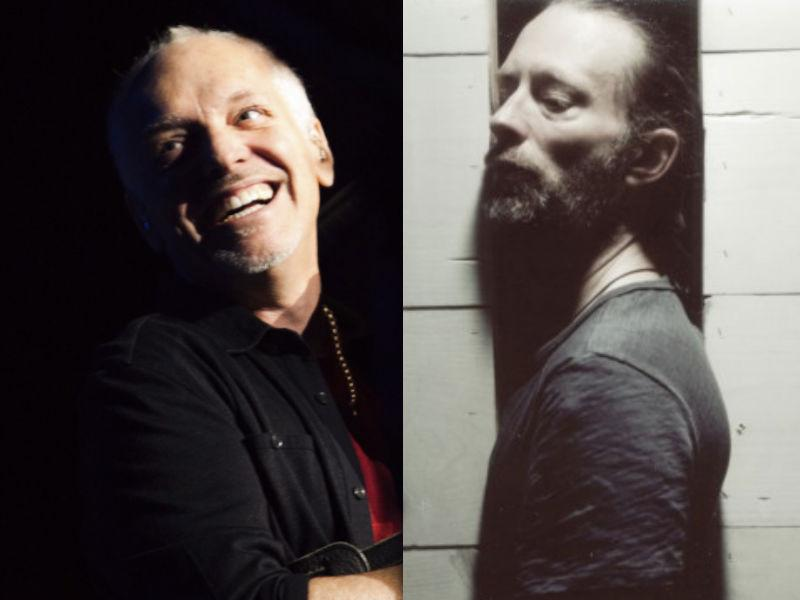 Peter Frampton and Thom Yorke