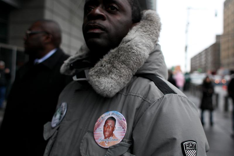 Francelot Graham, father of Ramarley Graham, the 18-year old shot by police in February 2012.