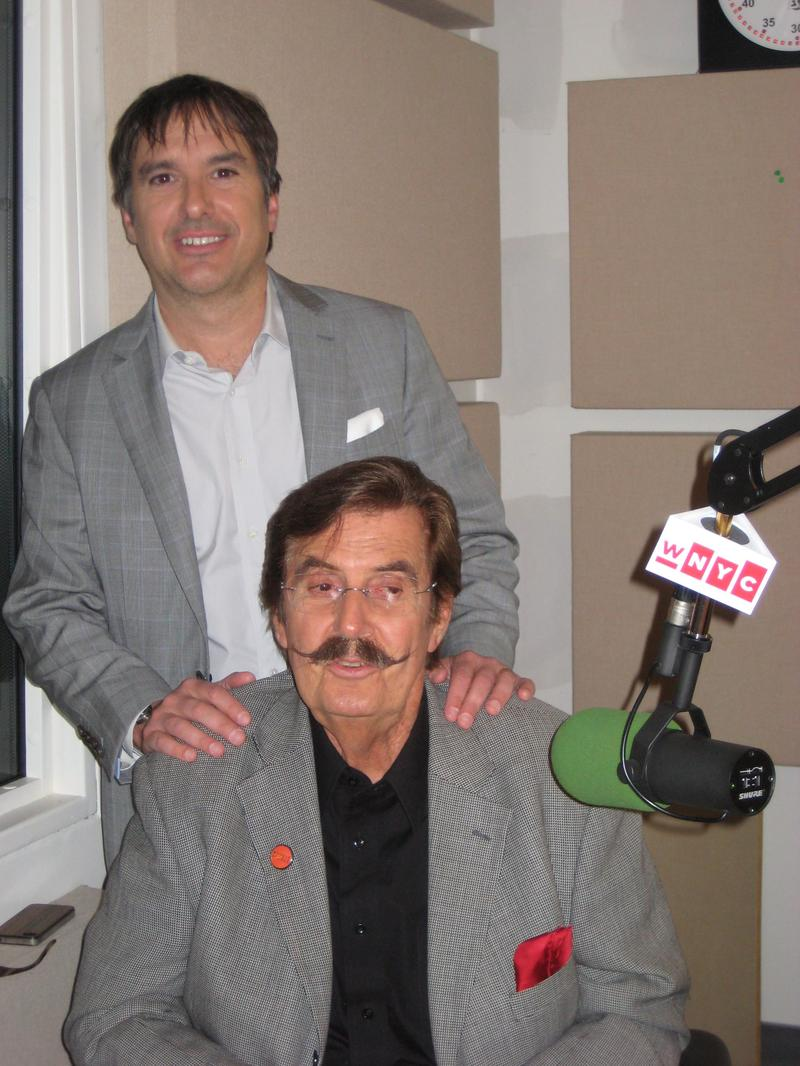 "Greg ""Freddy"" Camalier and Rick Hall in the WNYC studios, September 2013."