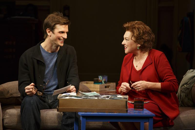 "Frederick Weller and Tyne Daly in a scene from Terrence McNally's ""Mothers and Sons"" on Broadway."