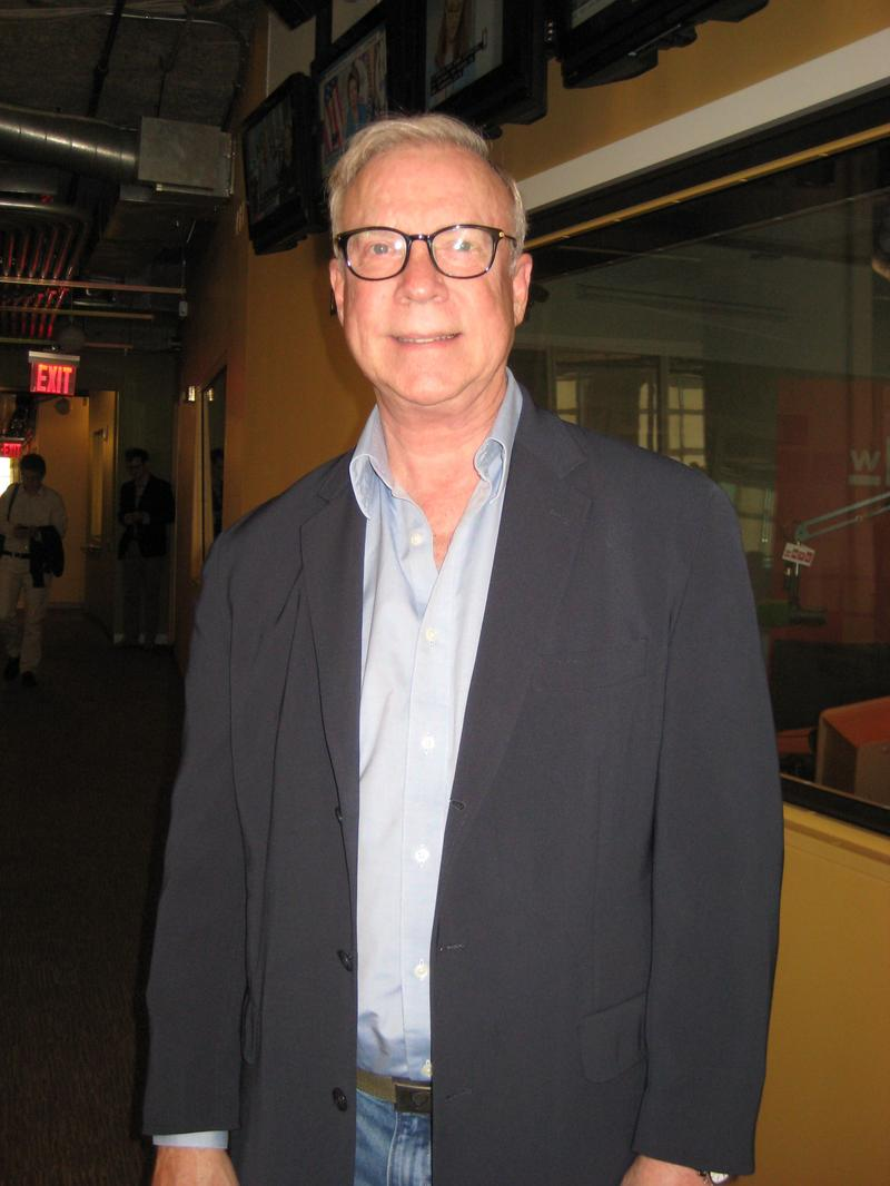 Gary Burton in the WNYC studios