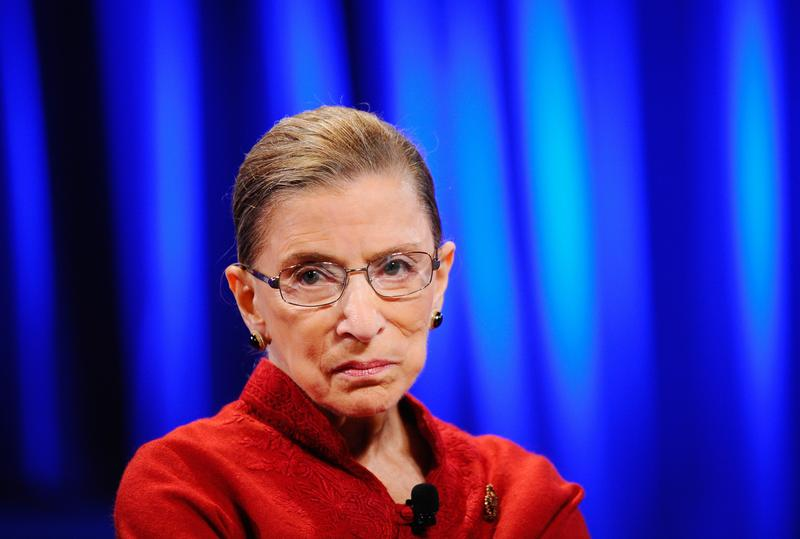Supreme Court Justice Ruth Bader Ginsberg and the other eight justices are set to decide healthcare and same-sex marriage in the next few weeks, and businesses aren't watching from the sidelines.
