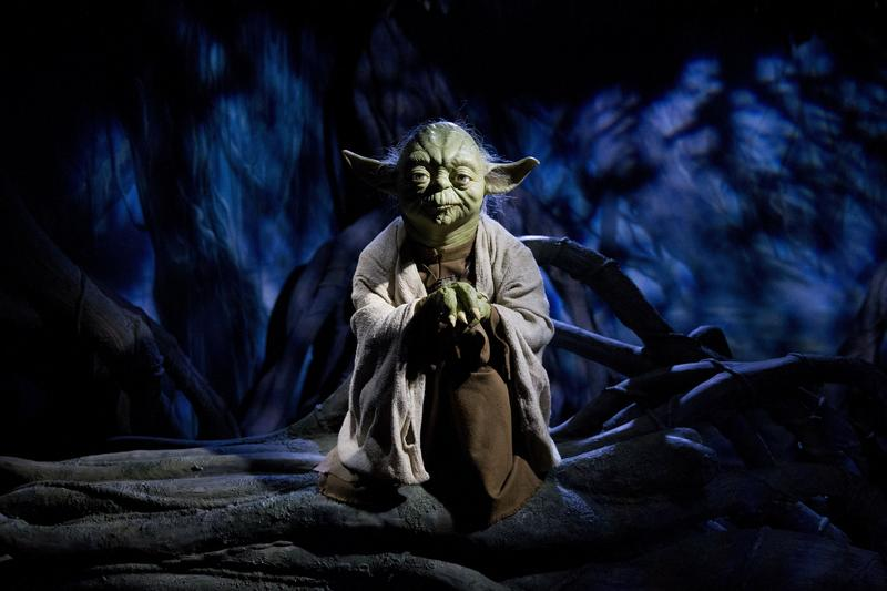 Yoda is a little disappointed that you haven't seen 'Star Wars.'