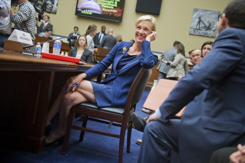 Cecile Richards, President of Planned Parenthood Federation of America, prepares to testify before Congress. September 29, 2015
