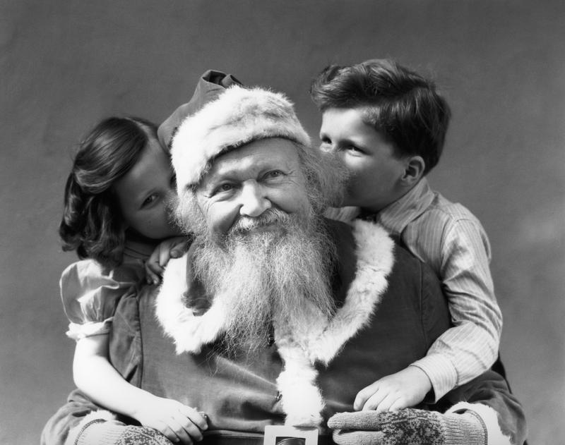 Through newly unearthed letters to Santa, one New York City man has made a connection with two children who lived more than 100 years ago.