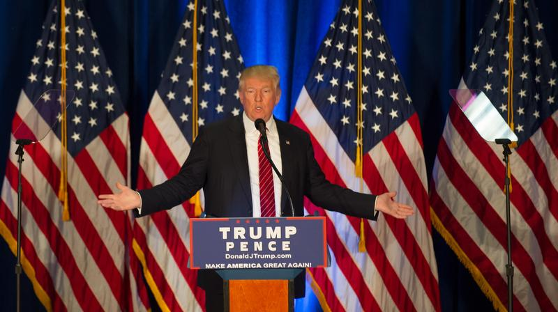 Republican Presidential Nominee Donald Trump Campaigns In Youngstown, Ohio.