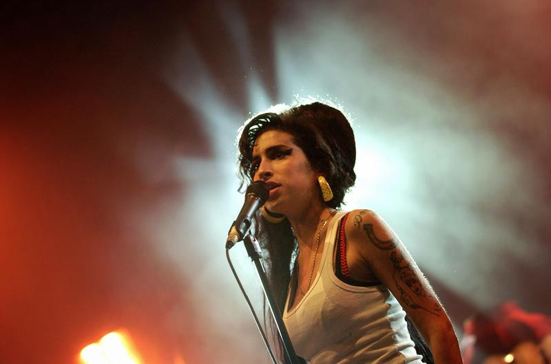British singer Amy Winehouse performs on stage, 29 June 2007 during the Eurockeennes Music Festival in Belfort, Eastern France.
