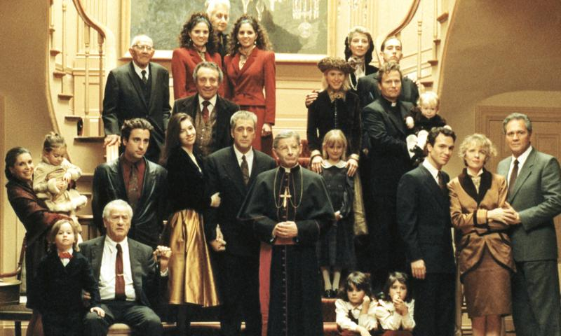 """The family portrait in """"The Godfather: Part III"""""""
