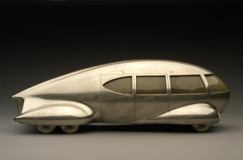 Norman Bel Geddes, Motor Car No. 9 (without tail fin), ca. 1933