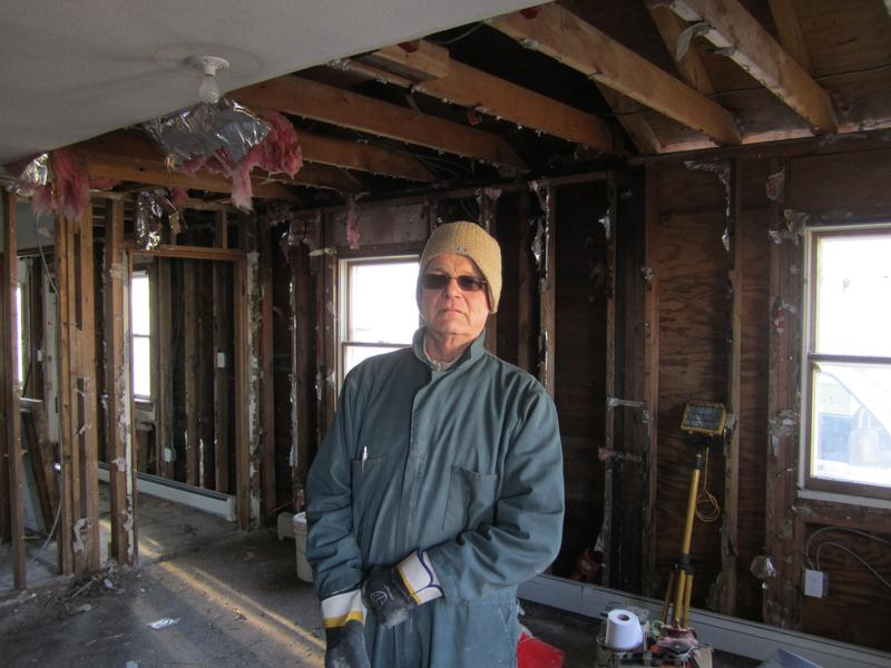 Russell Gordon, a homeowner in Oakwood Beach, Staten Island, who is eager to take advantage of Governor Cuomo's Sandy buy-out plan