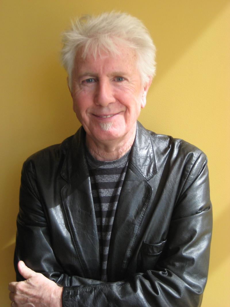 Graham Nash in the WNYC studios