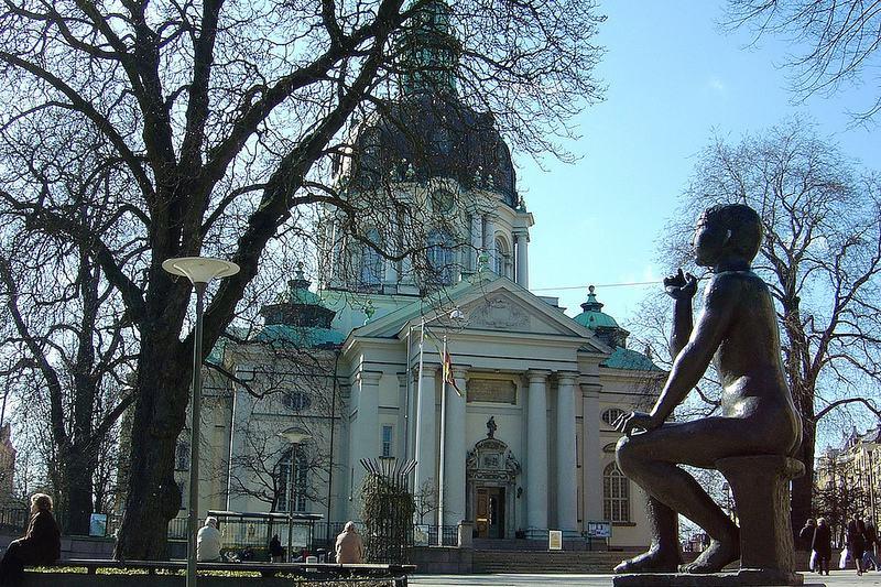 The Gustav Vasa Church in Stockholm.