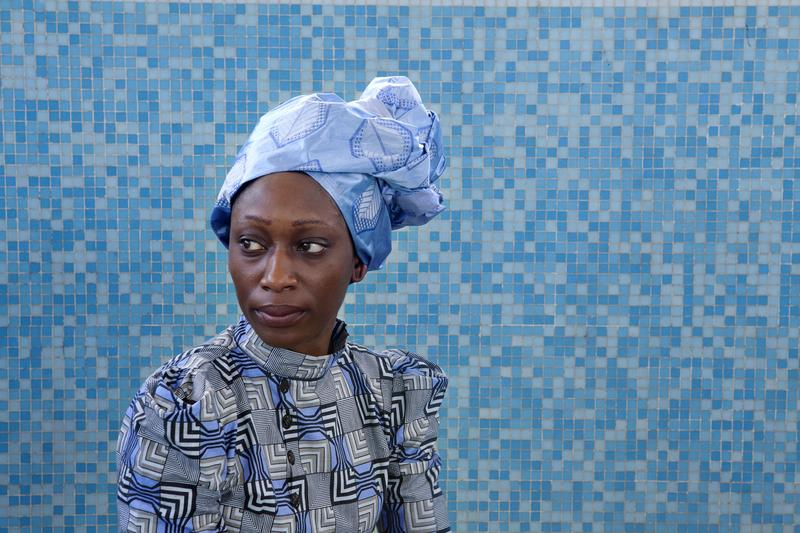 "Hafsat Abiola, subject of the film ""The Supreme Price,"" by Joanna Lipper. It's part of the Human Rights Watch Film Festival"