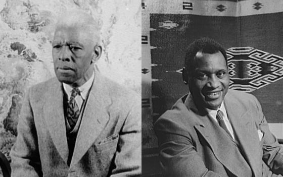 Roland Hayes and Paul Robeson
