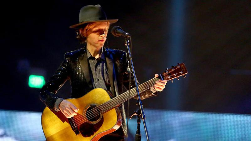 "Beck's soaring rendition of ""Sound And Vision"" includes full orchestra, a gospel choir, an Alphorn and even a yodeler."