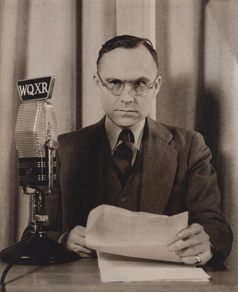 WQXR News Commentator Quincy Howe