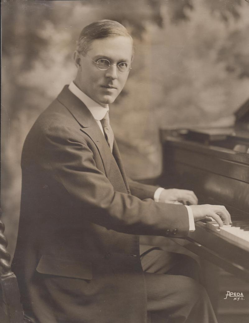 Ernest Hutcheson publicity photo