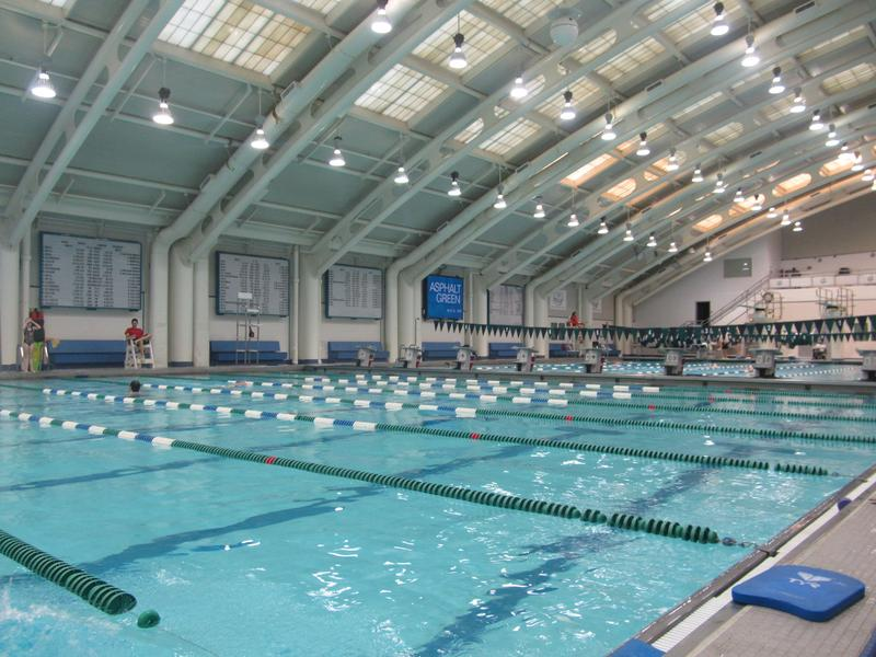 A free vets swim group meets weekly at the Asphalt Green Aquatic Center.