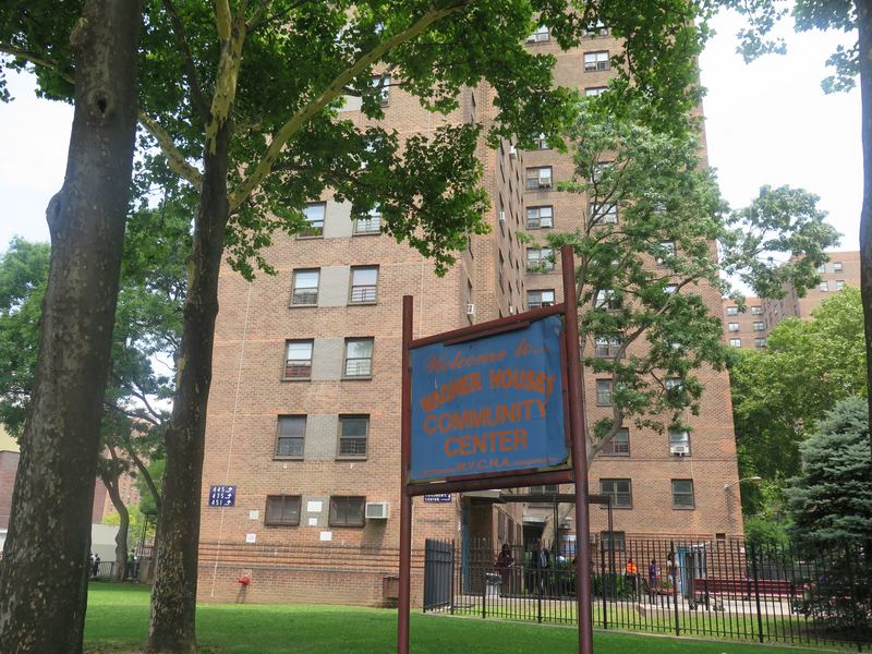 A community center at Wagner Houses in East Harlem. A report says NYCHA cannot afford to run centers and the city should take them over.