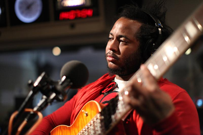 Thundercat performs in the Soundcheck studio.
