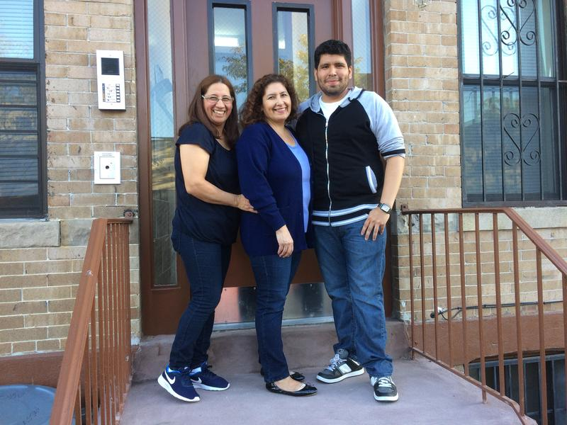 The Palaomino family, which had been forced to move out of their Greenpoint apartment three years ago, returned home in August.