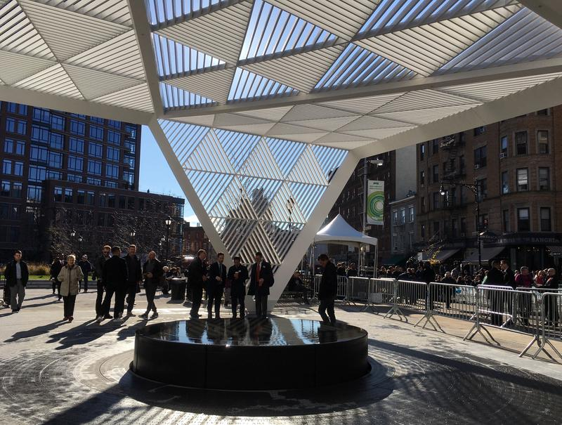 The New York City AIDS Memorial at St. Vincent's Triangle