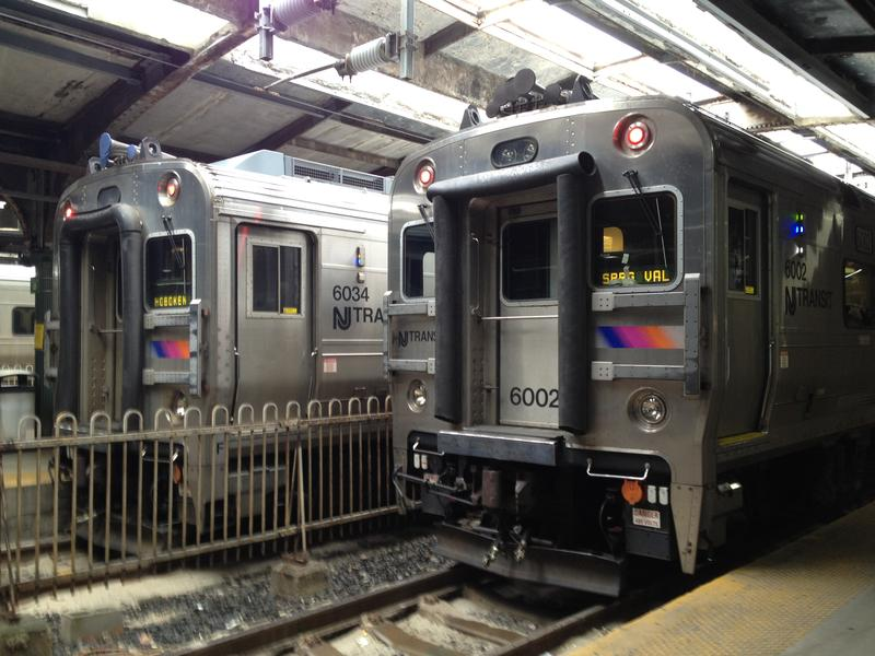NJ Transit trains, Hoboken Terminal