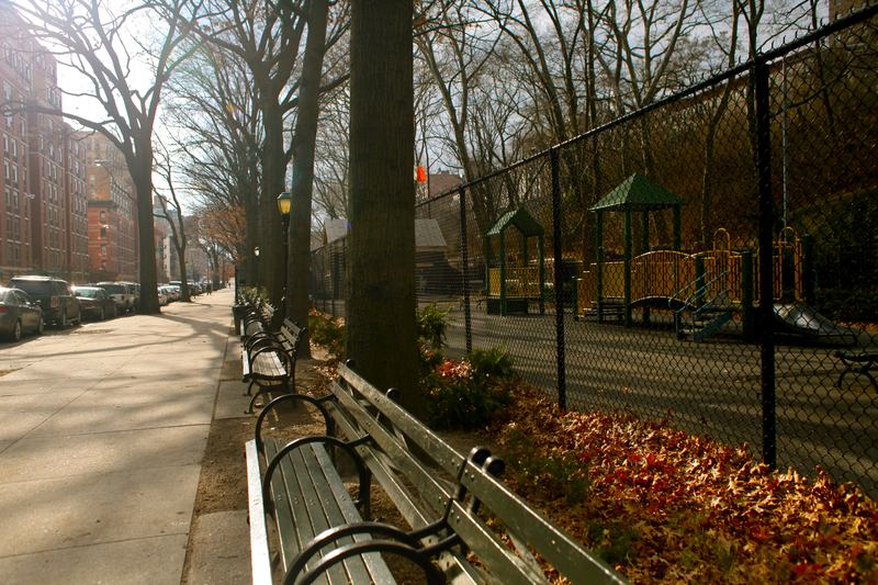 Neighborhood parks, like Jackie Robinson Park in Harlem, above, rely on City Council members for funding.