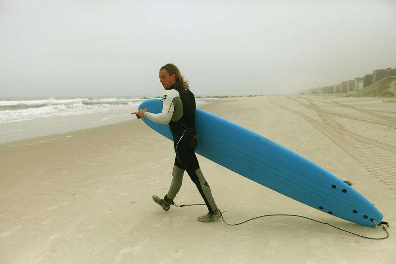 Roy Smith of Long Beach, NY is an instructor at Skudin Surf.