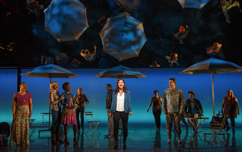 "Idina Menzel and the cast of ""If/Then"""
