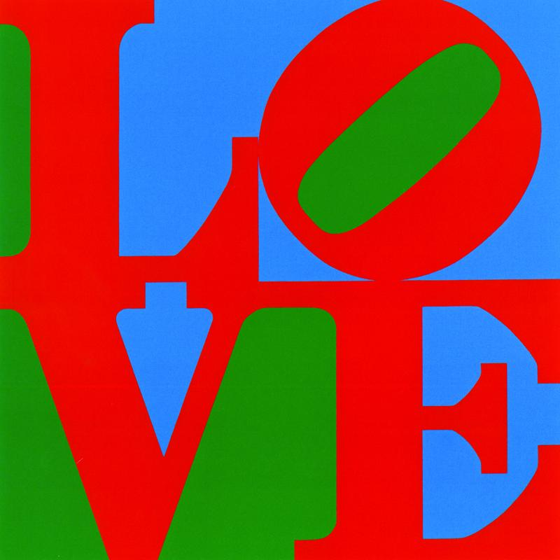 Robert Indiana LOVE, 1966