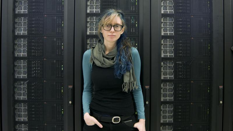 """Ingrid Burrington, author of """"Networks of New York: An Illustrated Field Guide to Urban Internet Infrastructure."""""""