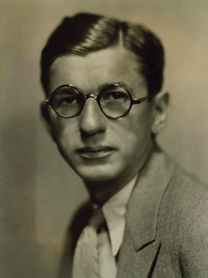 Irving Ceasar in 1930s publicity photo.