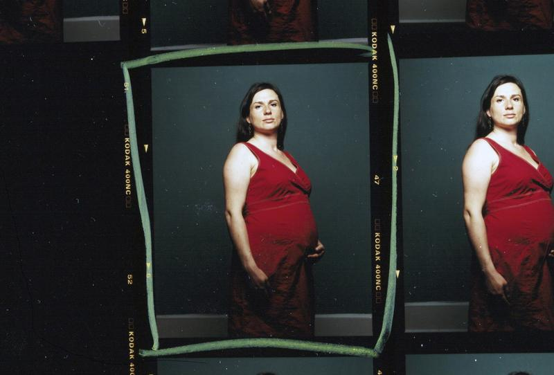 In 2006, editors from Newsweek magazine picked this picture for the front of an issue on the 25th anniversary of AIDS. The woman, Jennifer Jako, was HIV positive and 6 months pregnant.